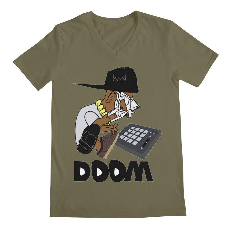 doom on the keys  Men's V-Neck by bansom12's Artist Shop