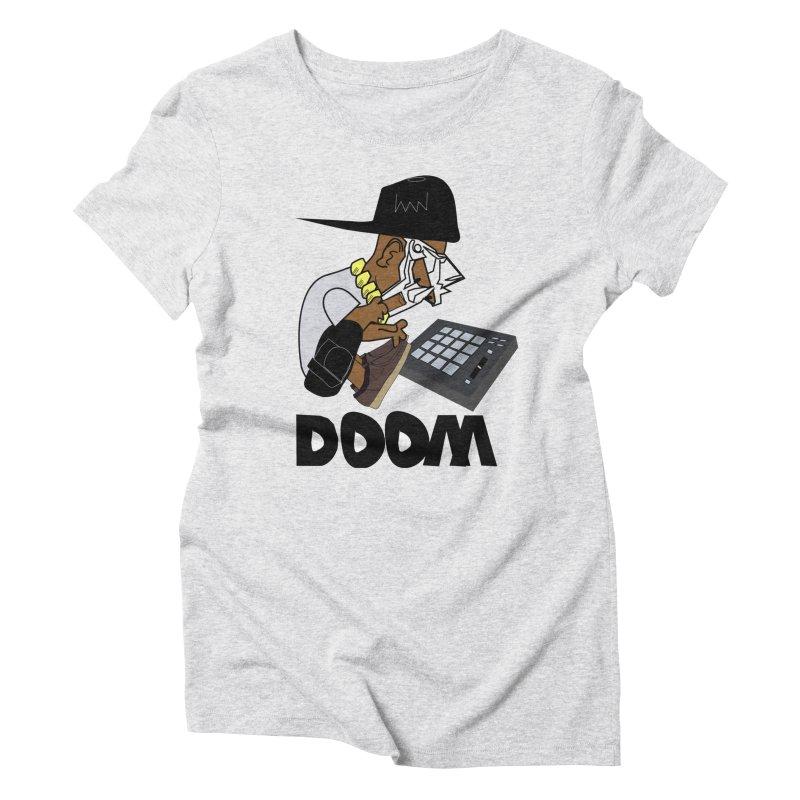 doom on the keys  Women's Triblend T-shirt by bansom12's Artist Shop