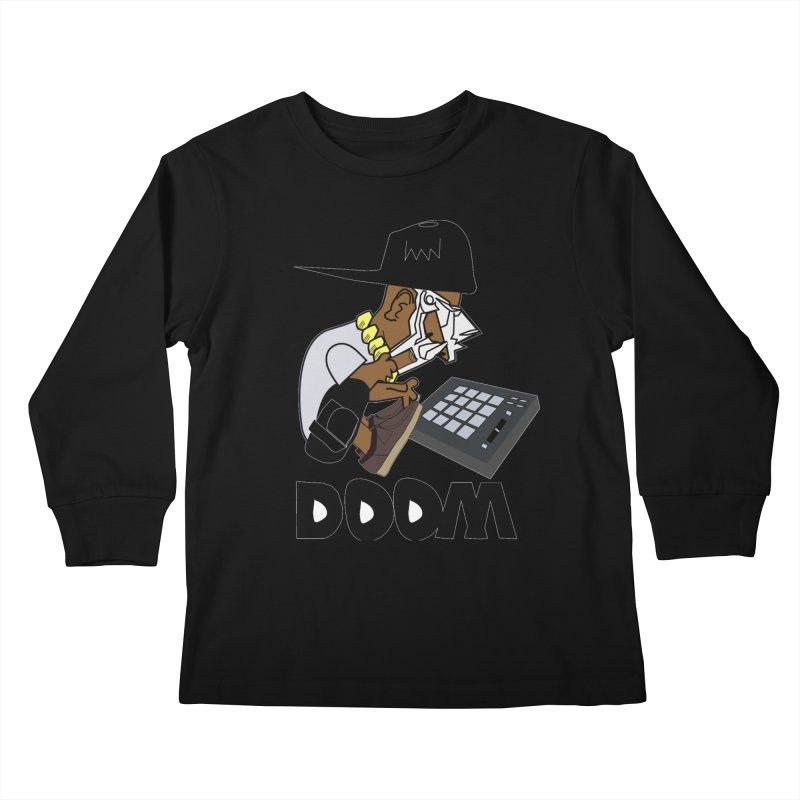 doom on the keys  Kids Longsleeve T-Shirt by bansom12's Artist Shop