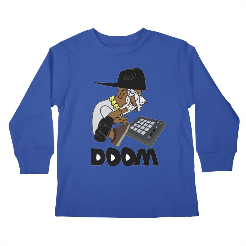 doom on the keys  Kids Longsleeve T-Shirt by bansom12's Artist Shop