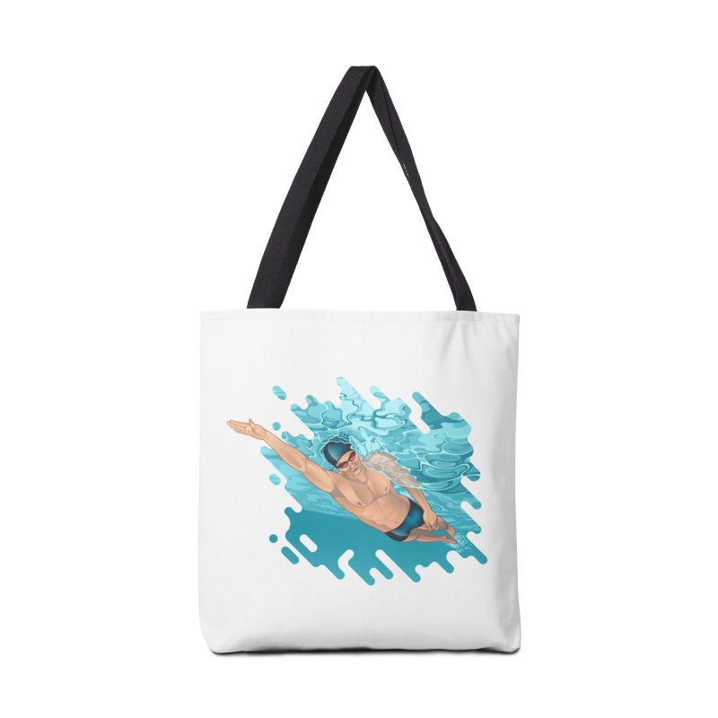 Super Swimmer Accessories Bag by Barbara Gambini's Artist Shop