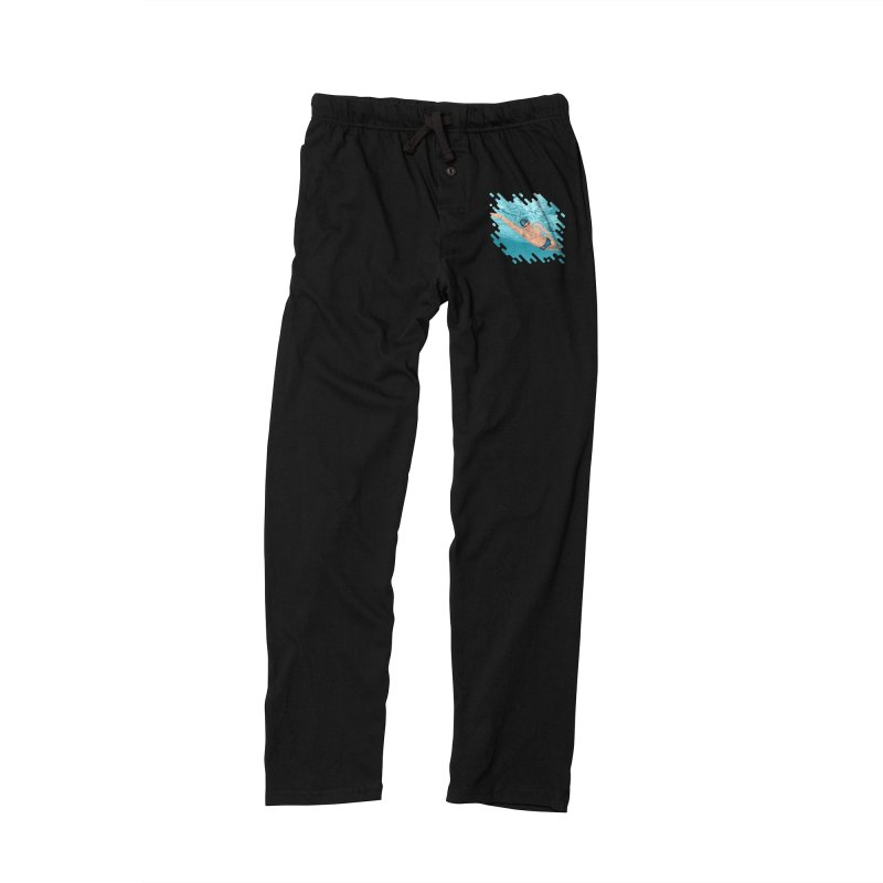 Super Swimmer Women's Lounge Pants by Barbara Gambini's Artist Shop