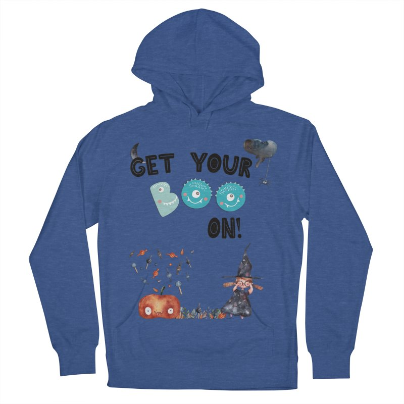Get Your Boo On! Women's Pullover Hoody by Barbara Storey Digital Art