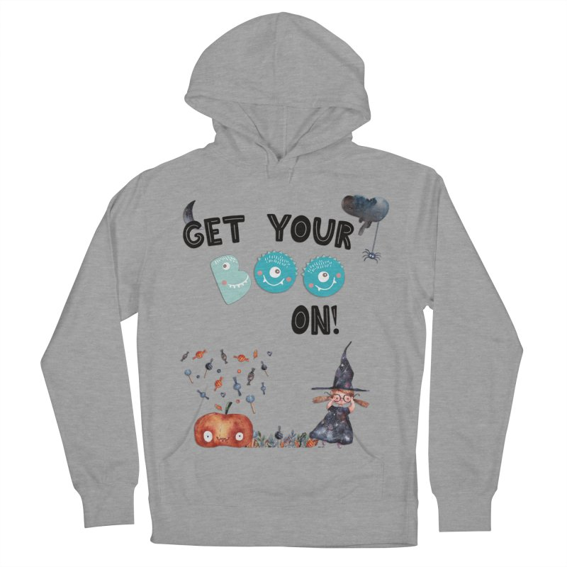 Get Your Boo On! Men's Pullover Hoody by Barbara Storey Digital Art