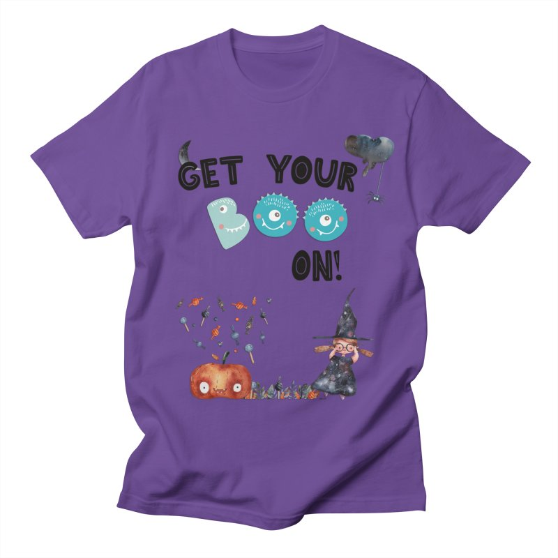 Get Your Boo On! Men's T-Shirt by Barbara Storey Digital Art