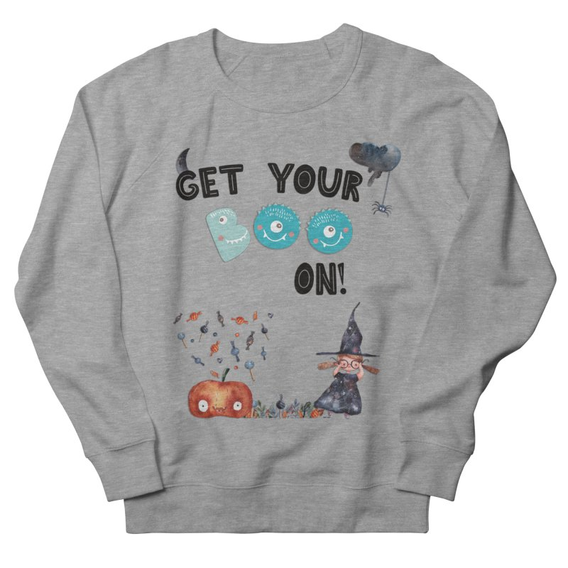 Get Your Boo On! Men's Sweatshirt by Barbara Storey Digital Art