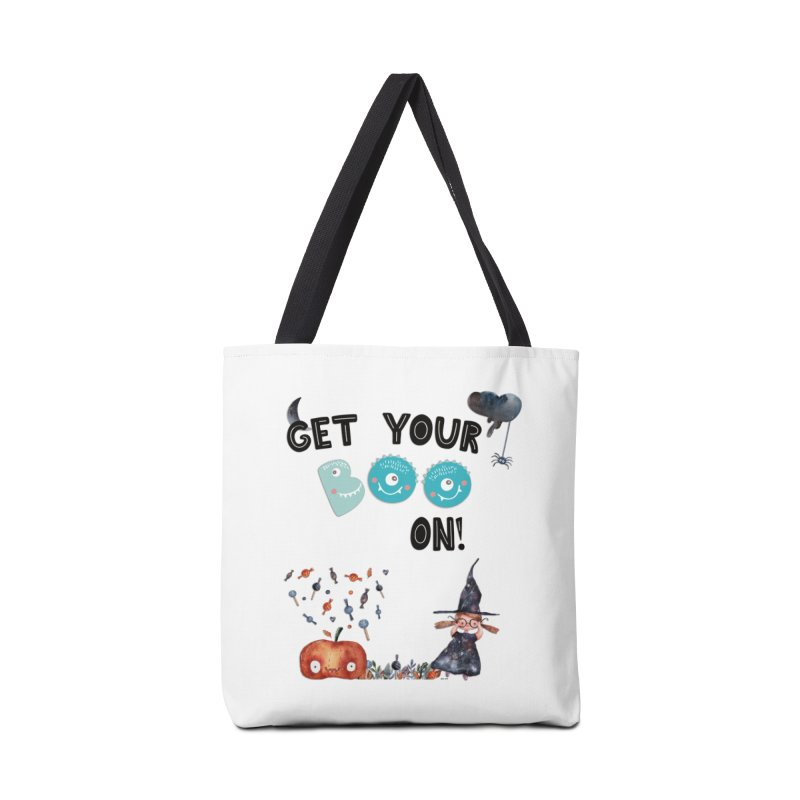 Get Your Boo On! Accessories Bag by Barbara Storey Digital Art