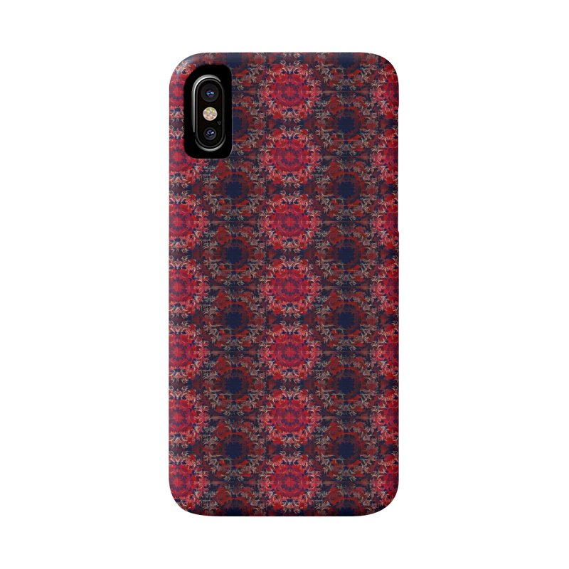 Midnight Scarlet Accessories Phone Case by Barbara Storey Digital Art
