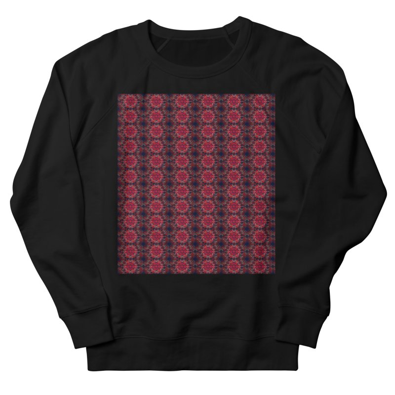 Midnight Scarlet Men's Sweatshirt by Barbara Storey Digital Art