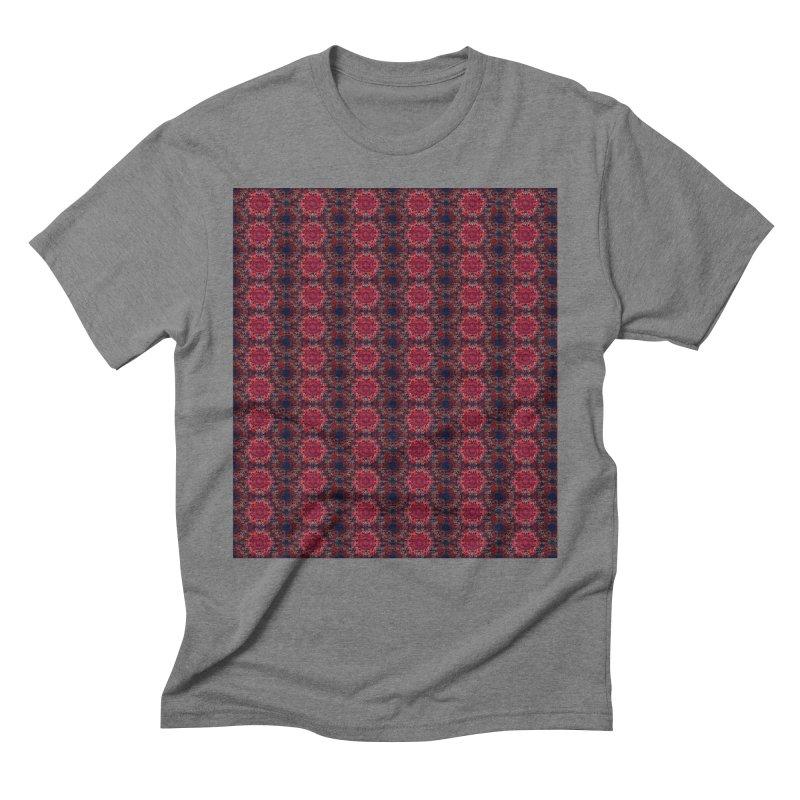 Midnight Scarlet Men's Triblend T-Shirt by Barbara Storey Digital Art