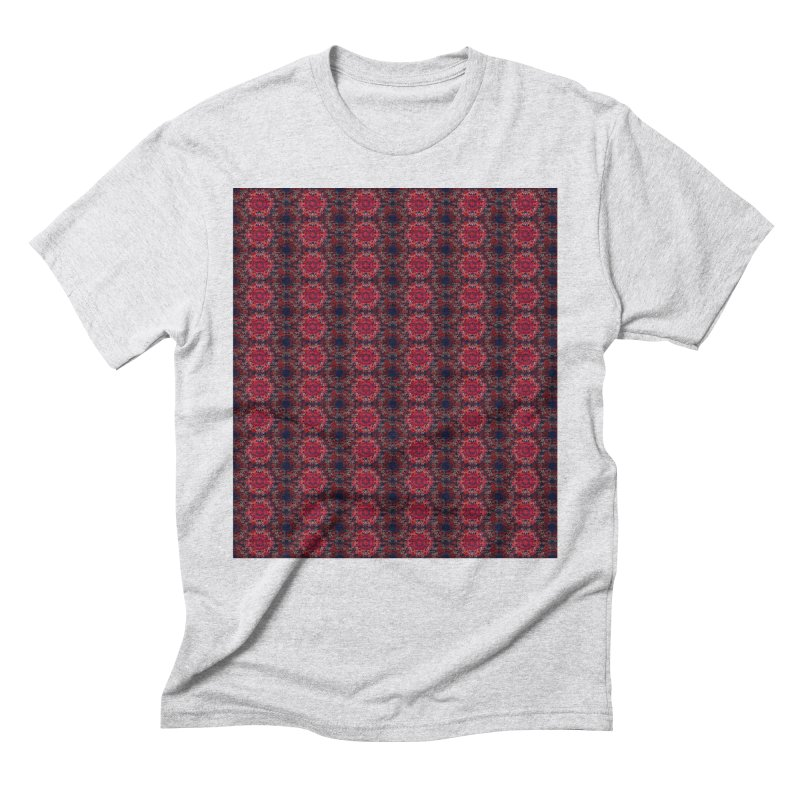 Midnight Scarlet Men's Triblend T-Shirt by Barbara Storey Digital Art