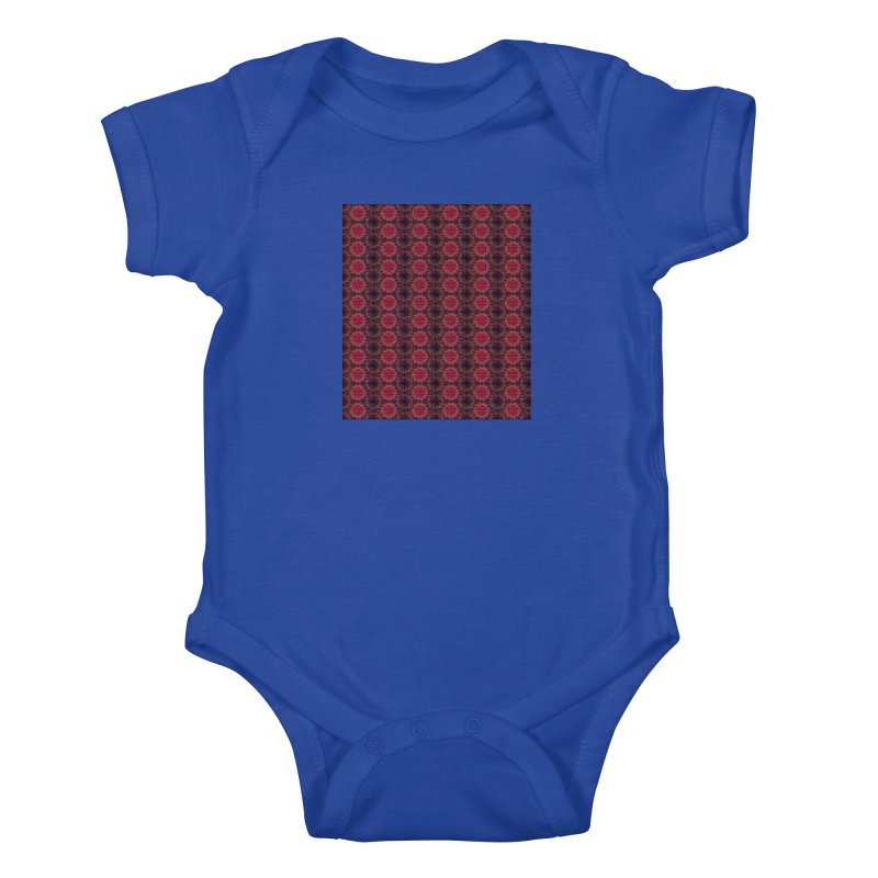 Midnight Scarlet Kids Baby Bodysuit by Barbara Storey Digital Art