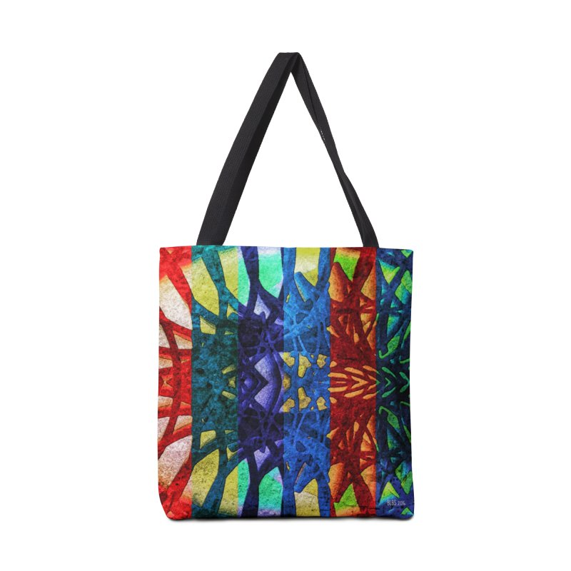 Rainbow Connections Accessories Bag by Barbara Storey Digital Art