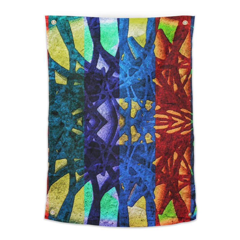 Rainbow Connections Home Tapestry by Barbara Storey Digital Art