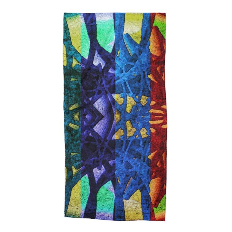 Rainbow Connections Accessories Beach Towel by Barbara Storey Digital Art