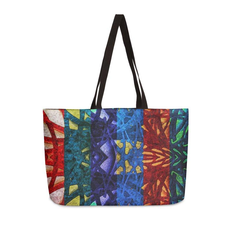Rainbow Connections in Weekender Bag by Barbara Storey Digital Art