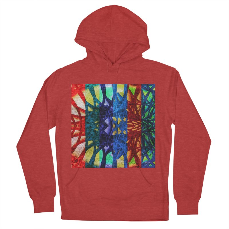 Rainbow Connections Men's Pullover Hoody by Barbara Storey Digital Art