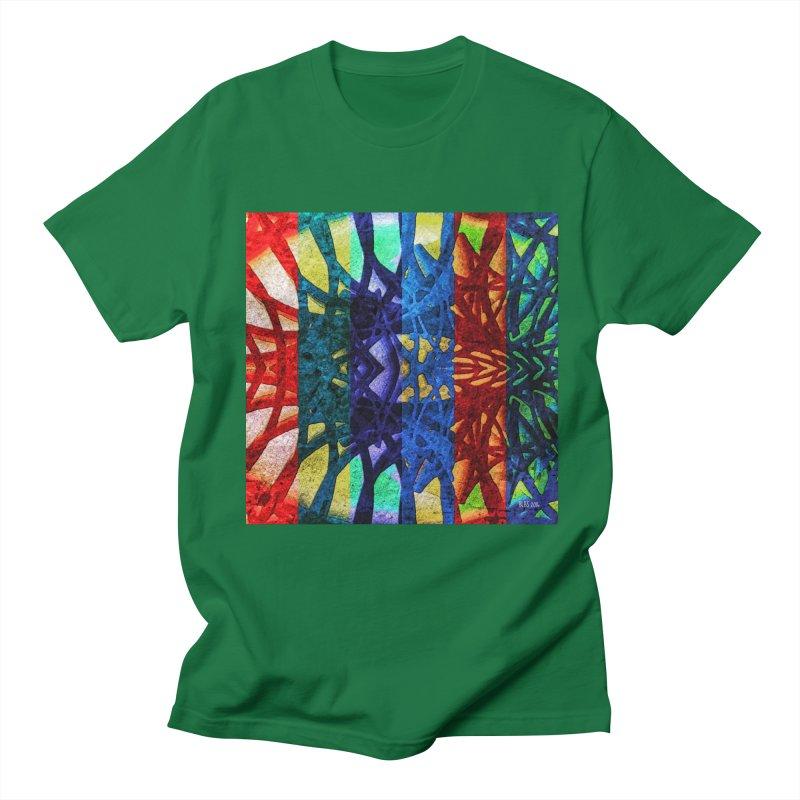 Rainbow Connections Men's T-Shirt by Barbara Storey Digital Art