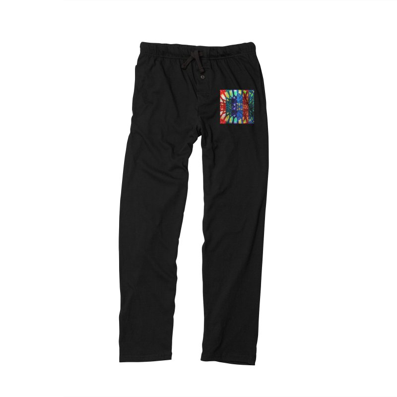 Rainbow Connections Men's Lounge Pants by Barbara Storey Digital Art