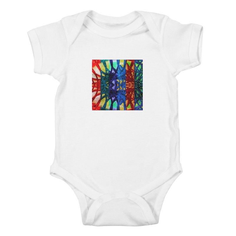 Rainbow Connections Kids Baby Bodysuit by Barbara Storey Digital Art