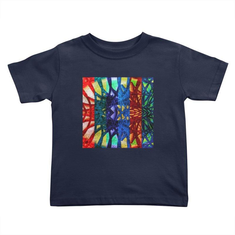 Rainbow Connections Kids Toddler T-Shirt by Barbara Storey Digital Art