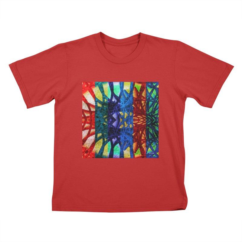 Rainbow Connections Kids T-Shirt by Barbara Storey Digital Art