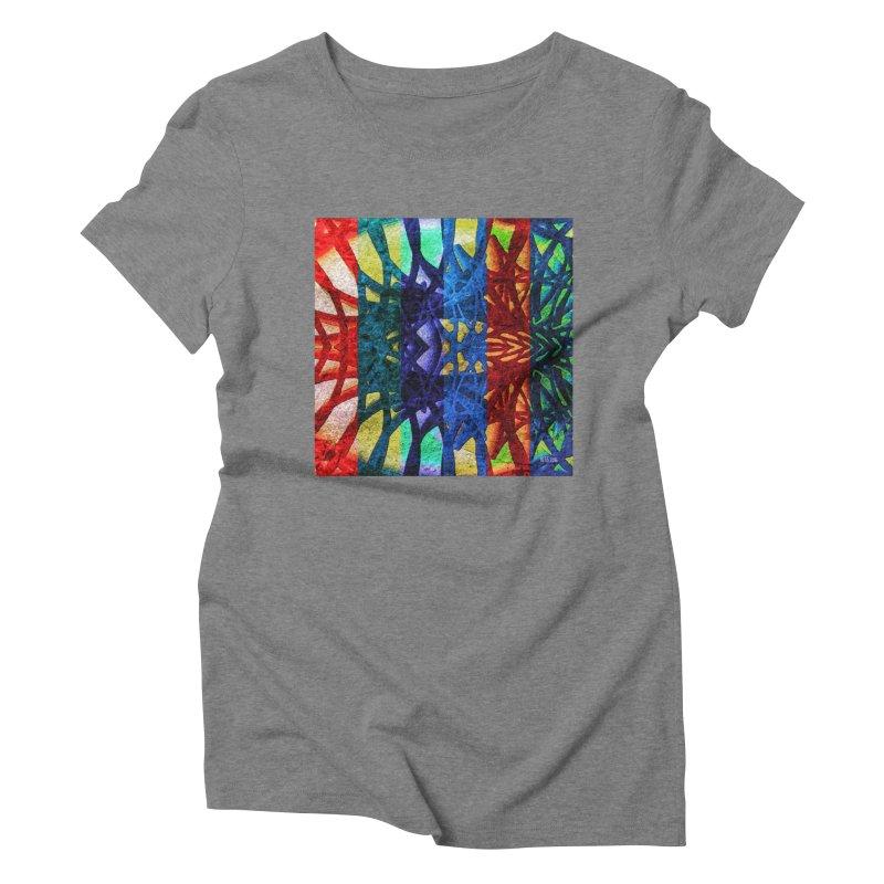 Rainbow Connections Women's Triblend T-Shirt by Barbara Storey Digital Art