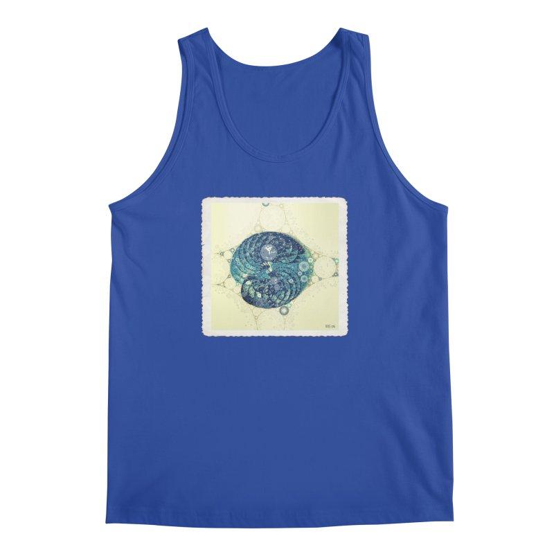 Blue Nautilus Men's Tank by Barbara Storey Digital Art