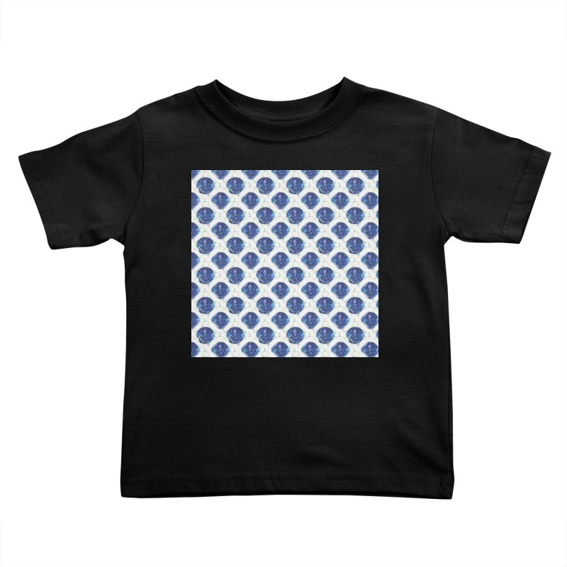 Blue Nautilus All-Over Print Kids Toddler T-Shirt by Barbara Storey Digital Art