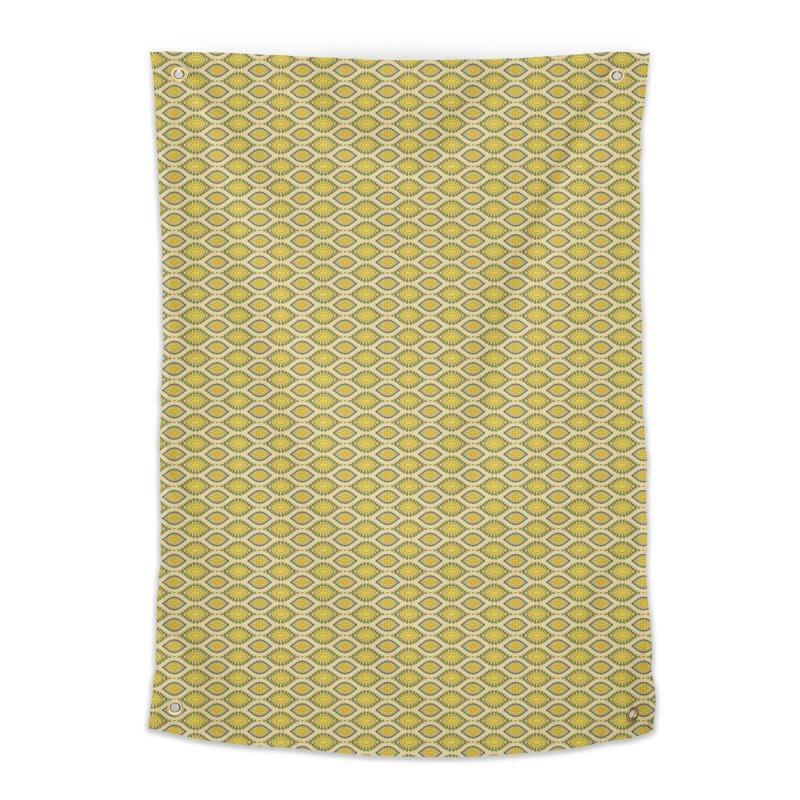 Lemon Squeeze Home Tapestry by Barbara Storey Digital Art