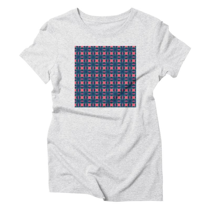 Midcentury Mod Women's Triblend T-Shirt by Barbara Storey Digital Art