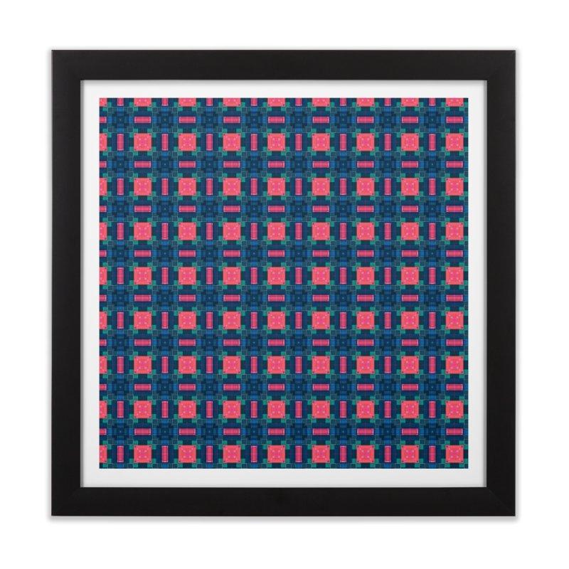 Midcentury Mod Home Framed Fine Art Print by Barbara Storey Digital Art