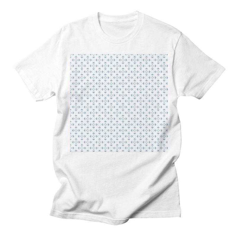 Delft Lace Women's Unisex T-Shirt by Barbara Storey Digital Art