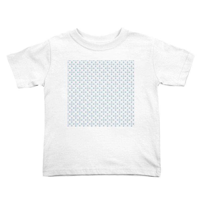 Delft Lace Kids Toddler T-Shirt by Barbara Storey Digital Art