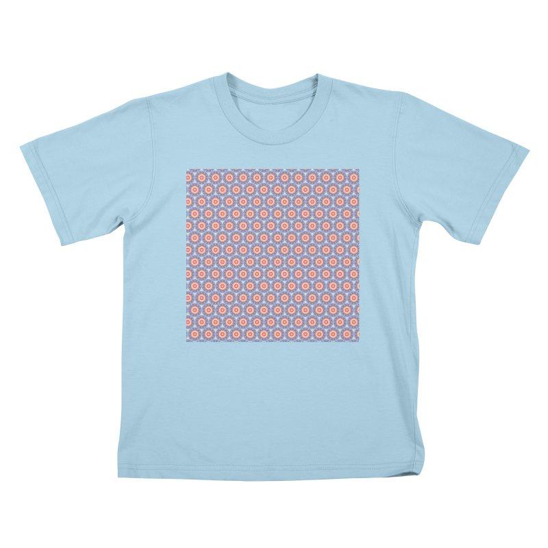 4th of July Ferris Wheels Kids T-Shirt by Barbara Storey Digital Art
