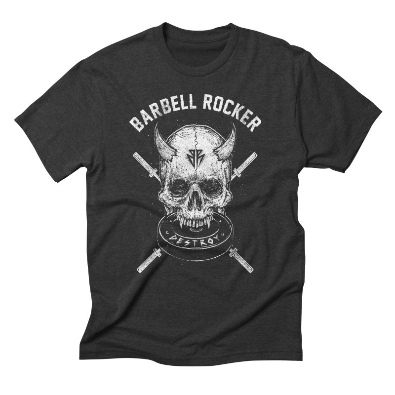 Even more evil Men's Triblend T-Shirt by Barbell Rocker's Artist Shop
