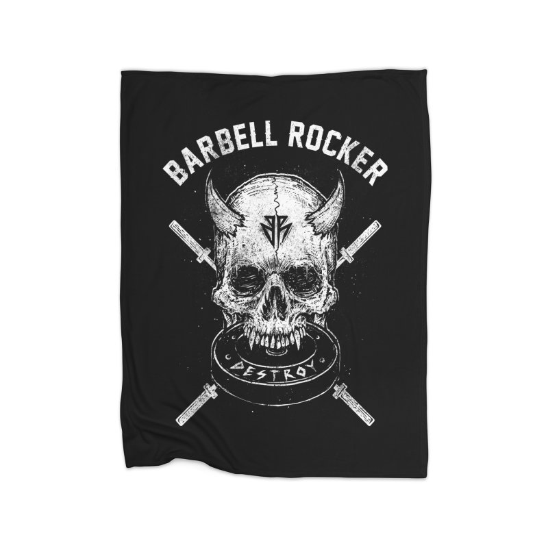 Even more evil Home Blanket by Barbell Rocker's Artist Shop
