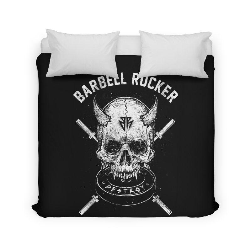 Even more evil Home Duvet by Barbell Rocker's Artist Shop