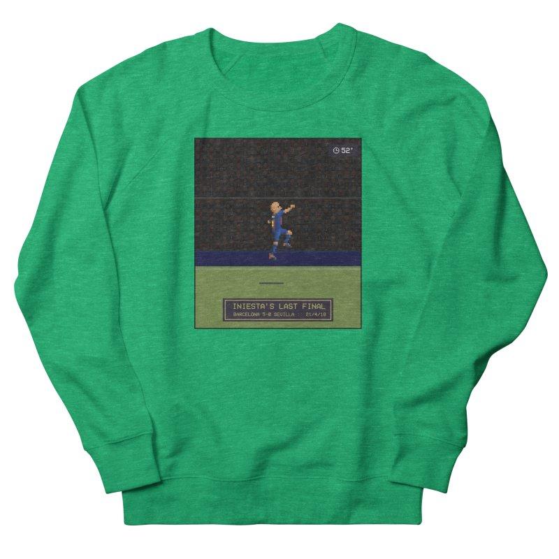 Iniesta's last final - Pixel Art Women's Sweatshirt by BM Design Shop