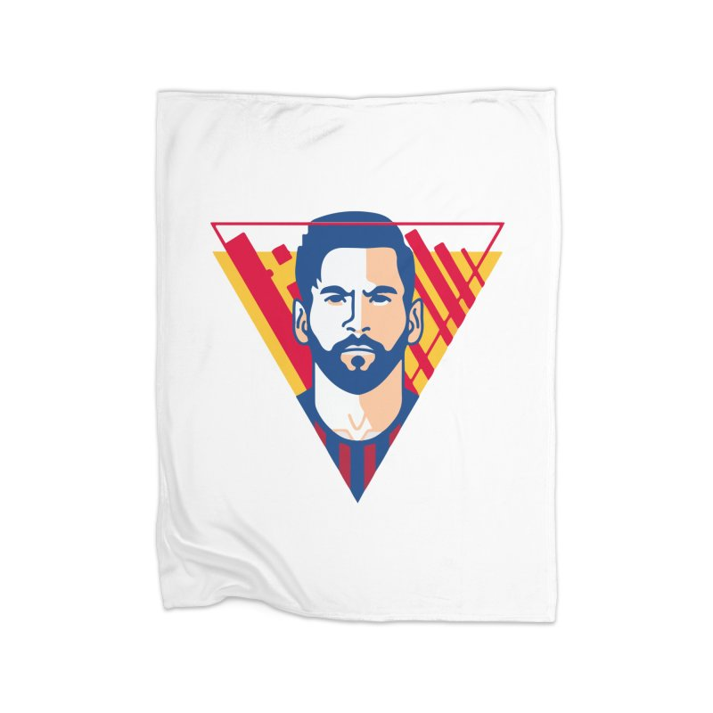 Messi Vector Home Blanket by BM Design Shop