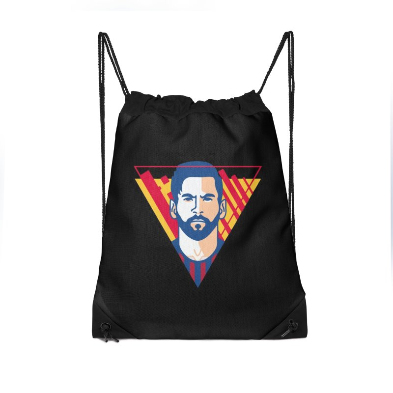 Messi Vector Accessories Bag by BM Design Shop