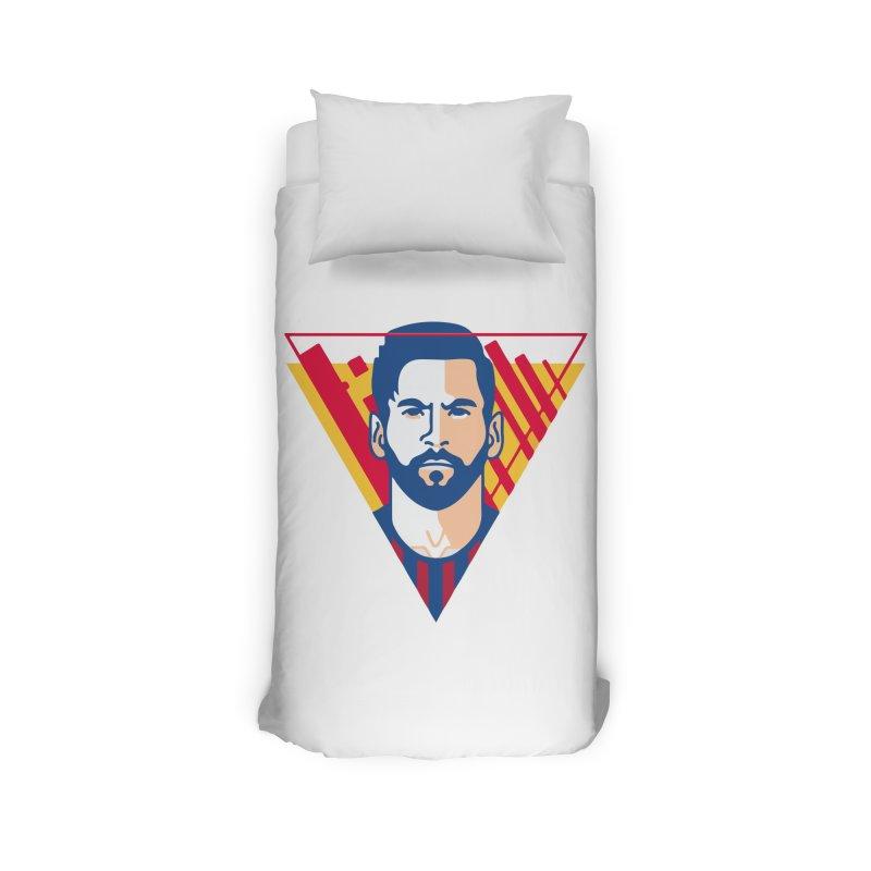 Messi Vector Home Duvet by BM Design Shop
