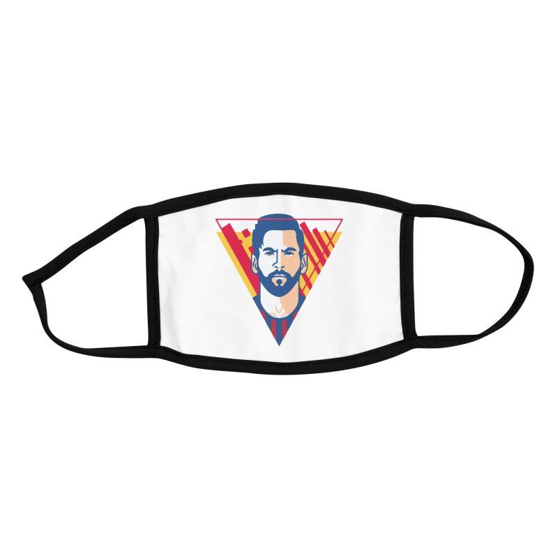 Messi Vector Accessories Face Mask by BM Design Shop