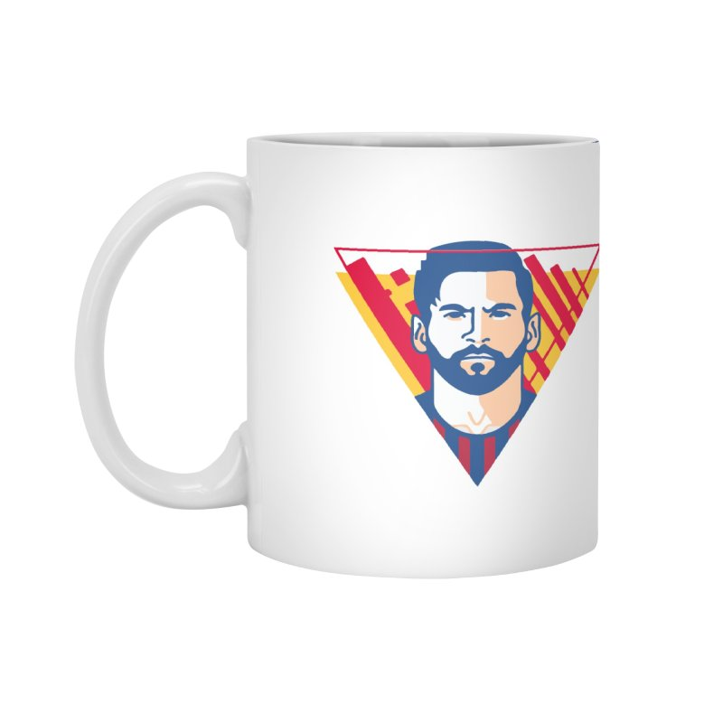 Messi Vector Accessories Mug by BM Design Shop
