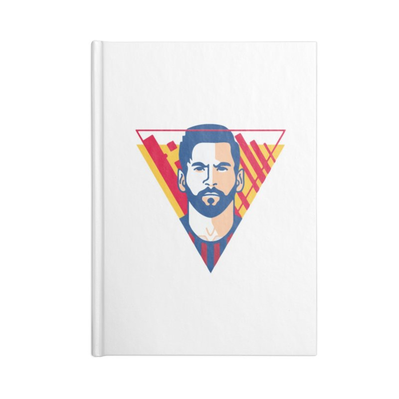 Messi Vector Accessories Notebook by BM Design Shop