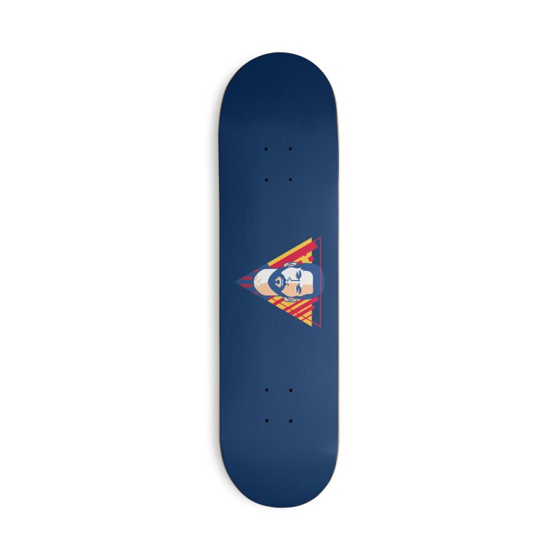 Messi Vector Accessories Skateboard by BM Design Shop
