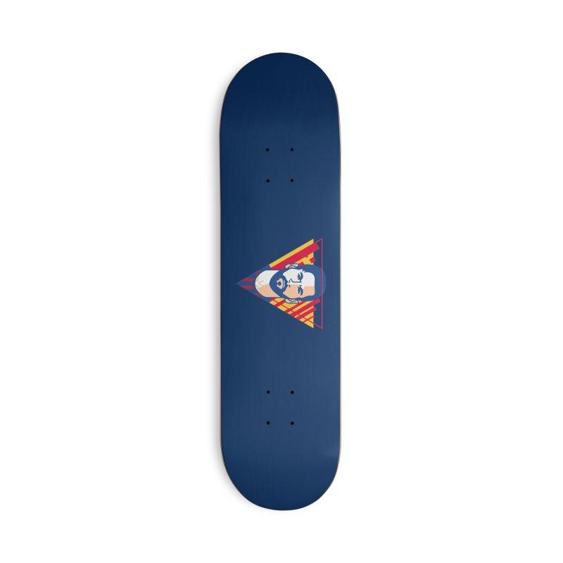 Messi Vector Accessories Skateboard by BM Design Shop