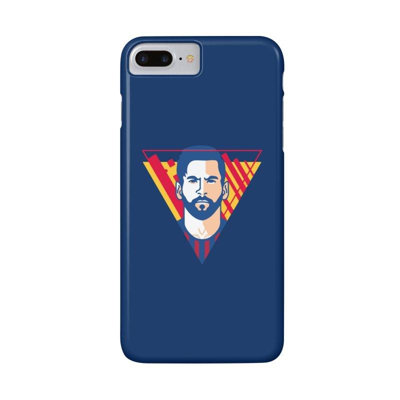 Messi Vector Accessories Phone Case by BM Design Shop