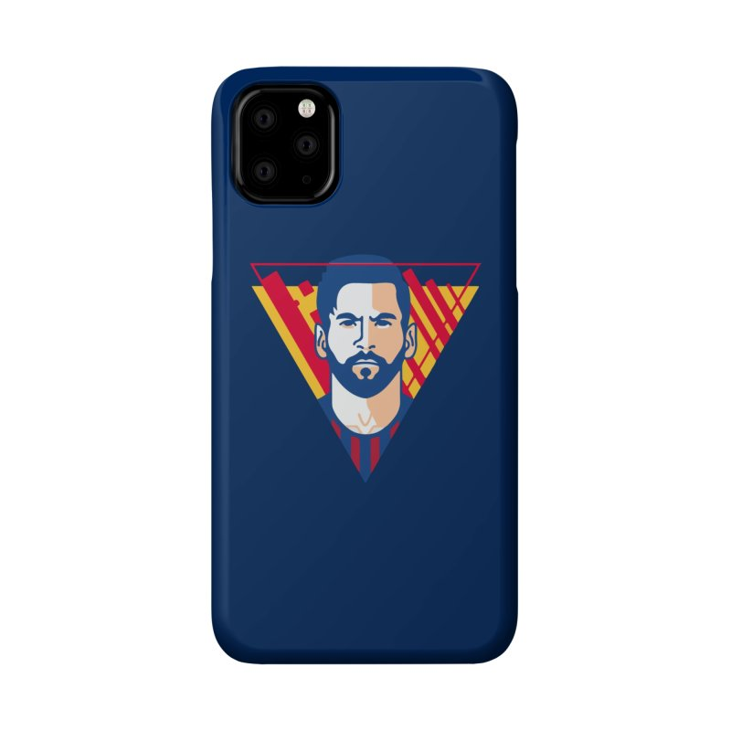 Messi Vector Accessories Phone Case by BM Design Shop