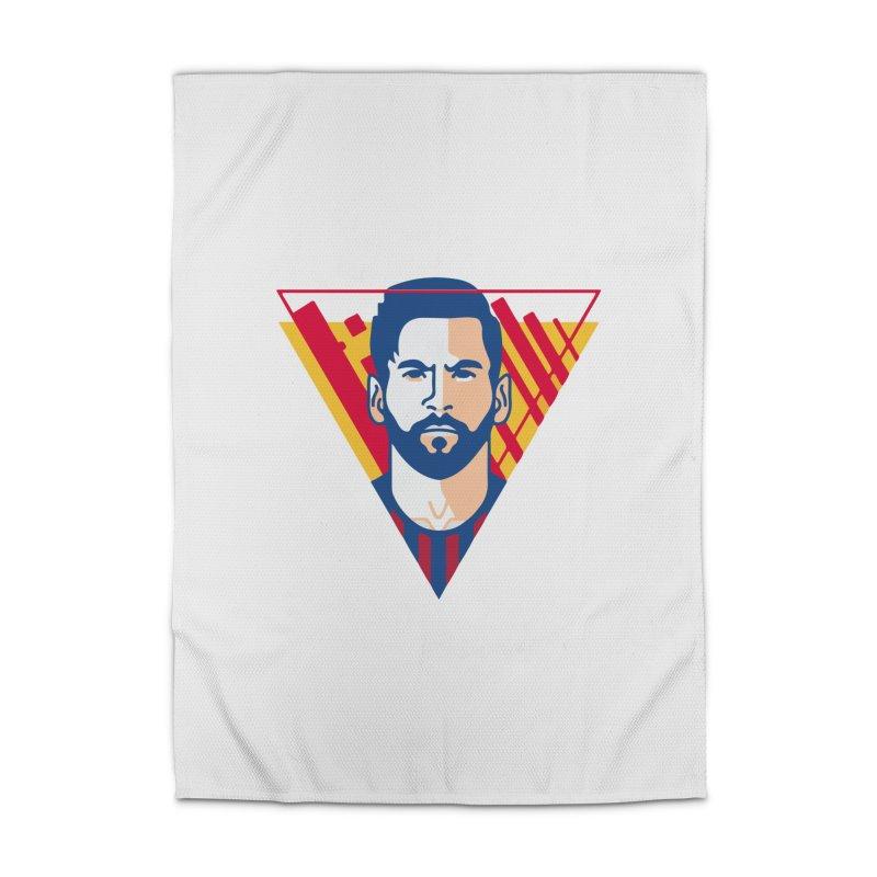 Messi Vector Home Rug by BM Design Shop